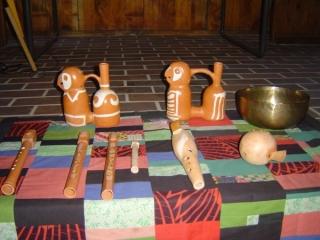 und seine originellen Natur-Instrumente