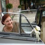 Hochzeitskutsche BJ 1960